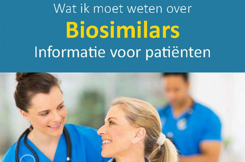 Europese folder over biosimilars