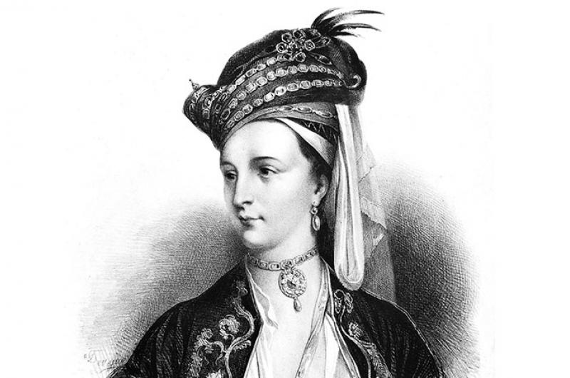 De Britse lady Mary Montague
