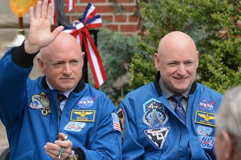 tweeling Scott en Mark Kelly