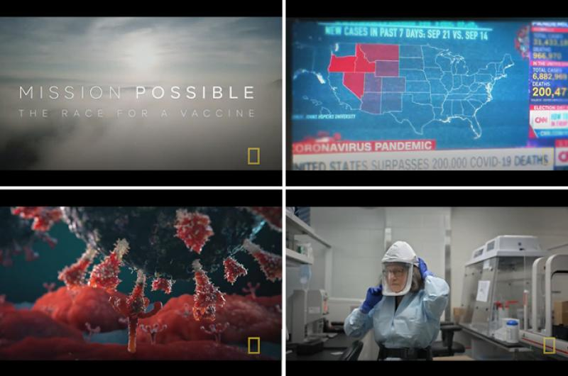 National Geographic documentaire 'Mission Possible -The Race for a Vaccine'